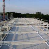 Oktober 2017: Neues Beschichtungssystem für den Stahlhallenbau