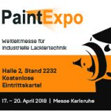 March 2018: Dreisol as an exhibitor at PaintExpo