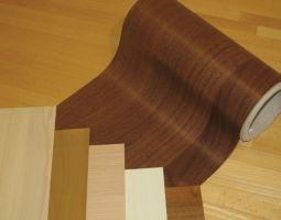 Folienlacke (bedruckte Folien, verschiedene Holzmuster / Farben)