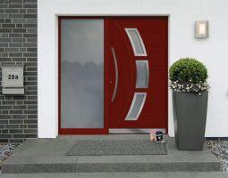 Kunststofflacke (Lackierte Eingangstuer rot)